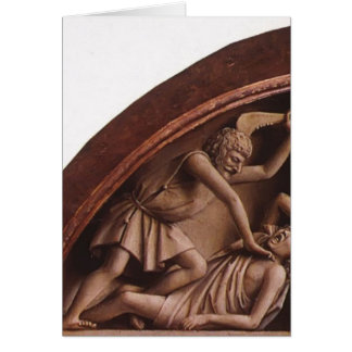 Jan van Eyck- The Ghent Altar (detail) Card