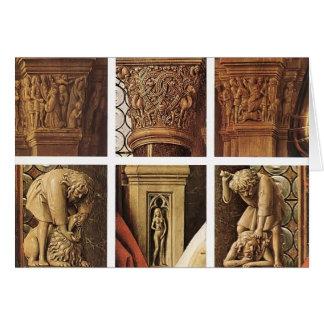 Jan van Eyck- The Madonna of Canon van der Paele Card