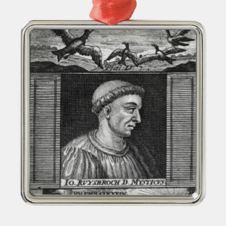 Jan van Ruysbroeck Christmas Ornament