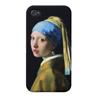 Jan Vermeer Girl With A Pearl Earring Baroque Art Case For The iPhone 4