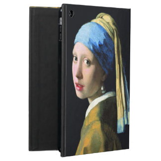 Jan Vermeer Girl With A Pearl Earring Baroque Art Cover For iPad Air