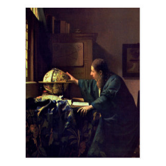 Jan Vermeer, The Astronomer Postcard