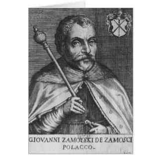 Jan Zamoyski Card