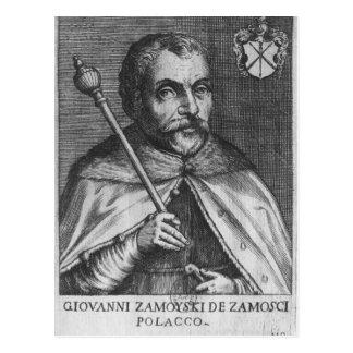 Jan Zamoyski Postcard