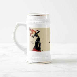 Jane April LAUTREC REDUX Edition Beer Steins
