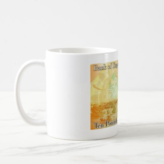 Jane Austen £10 Note Coffee Mug