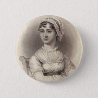 Jane Austen 6 Cm Round Badge