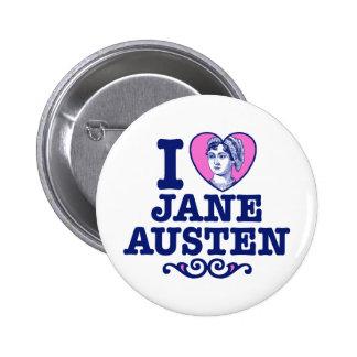 Jane Austen 6 Cm Round Badge
