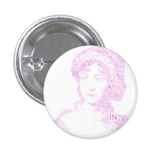 Jane Austen Button in Purple