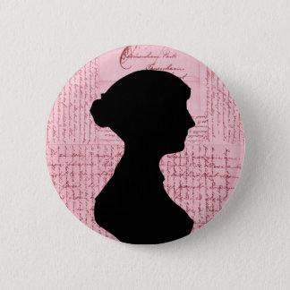 Jane Austen, Call Me Lady Jane Series 6 Cm Round Badge