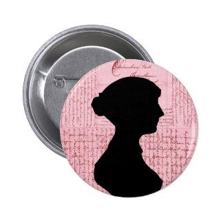 Jane Austen, Call Me Lady Jane Series 6 Cm Round Badge