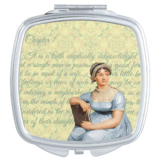 Jane Austen Compact Mirror
