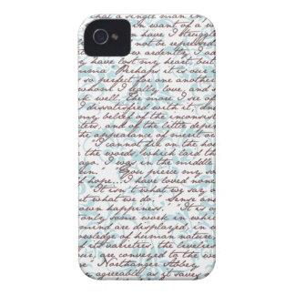 Jane Austen Damask iPhone 4 Covers