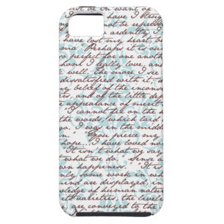 Jane Austen Damask Case For The iPhone 5