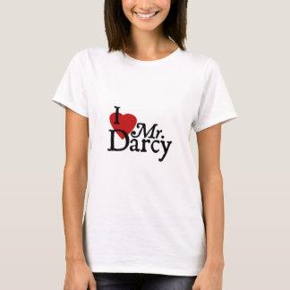 Jane Austen I LOVE Mr. Darcy T-Shirt