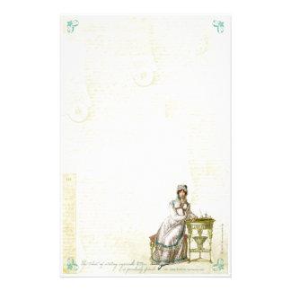 Jane Austen Inspired Stationery I