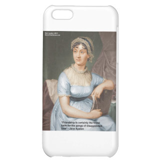 Jane Austen Love Finest Balm Quote Cards & Gifts iPhone 5C Cover