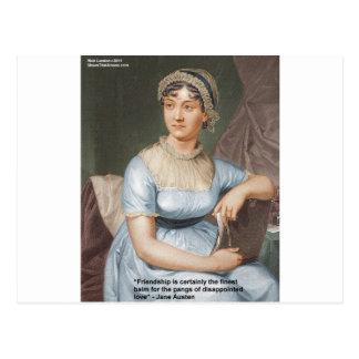 Jane Austen Love Finest Balm Quote Cards & Gifts Postcard