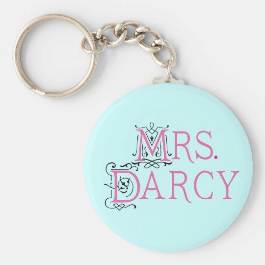 Jane Austen Mrs Darcy Gift Basic Round Button