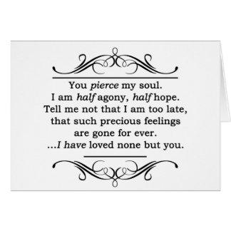 Jane Austen Persuasion Quote Card