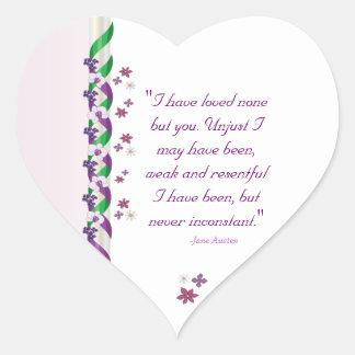Jane Austen Persuasion Quote Stickers