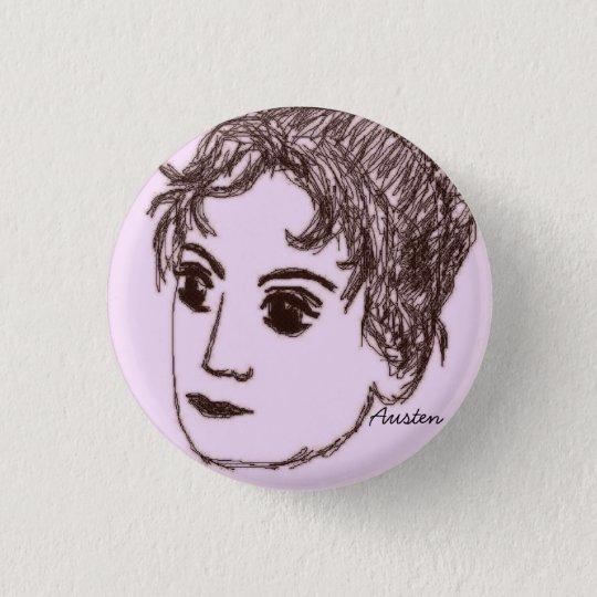 Jane Austen Pin