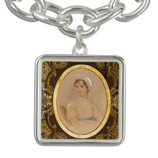 Jane Austen portrait charm bracelet