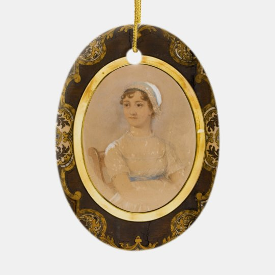 Jane Austen portrait ornament