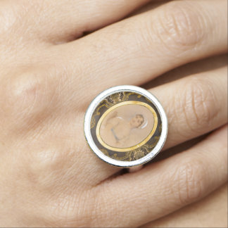 Jane Austen portrait ring