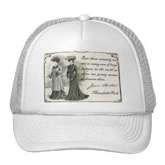 Jane Austen Pretty Women Mesh Hats