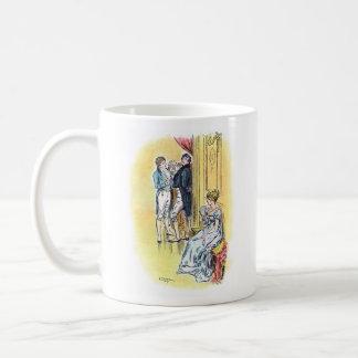 Jane Austen Pride and Prejudice Darcy Mug