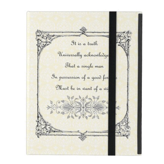 Jane Austen Pride and Prejudice First Line Quote
