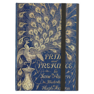 Jane Austen Pride and Prejudice Peacock 1894 iPad Air Cover