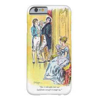 Jane Austen Pride & Prejudice Quote Barely There iPhone 6 Case