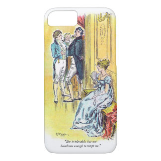 Jane Austen Pride & Prejudice Quote iPhone 7 Case