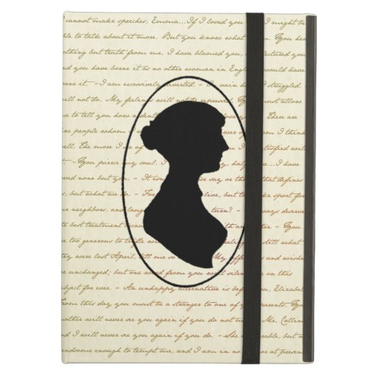 Jane Austen Quotes and Portrait Cover