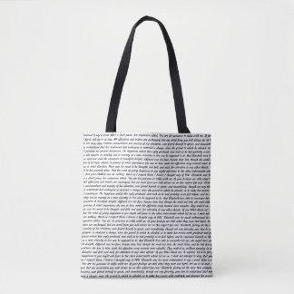Jane Austen Quotes Tote Bag