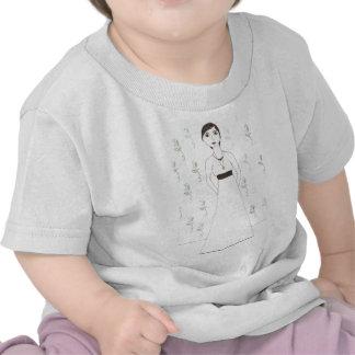 Jane Austen s wallpaper Shirt