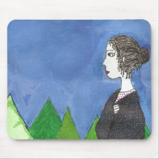Jane Austen s Window Mouse Pads