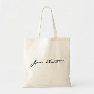 Jane Austen Signature Budget Tote Bag