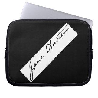 Jane Austen Signature Laptop Sleeve