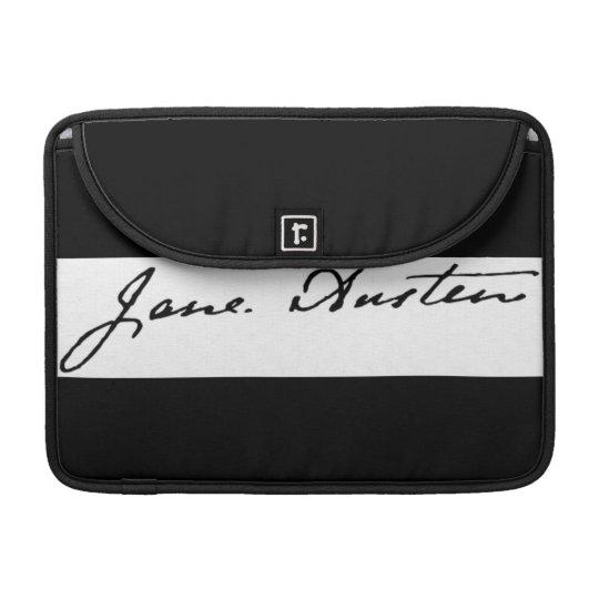 Jane Austen Signature Sleeve For MacBooks