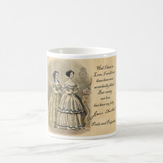Jane Austen: Vanity Coffee Mug