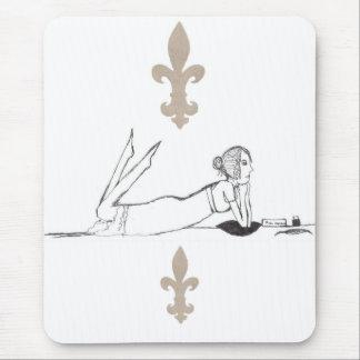 Jane Austen Writing Mouse Pad