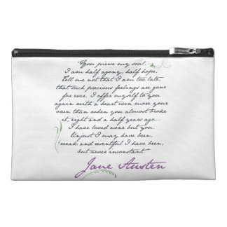Jane Austen's Persuasion Quote #1 Small Bags Travel Accessories Bags