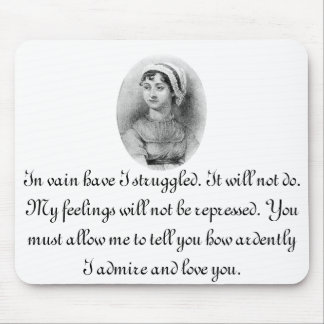 Jane Austen's Pride Mouse Pad