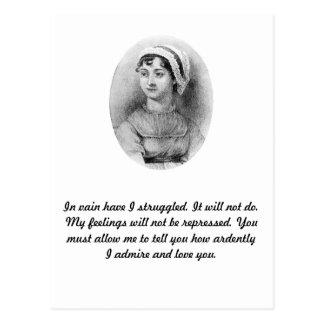 Jane Austen's Pride Postcard