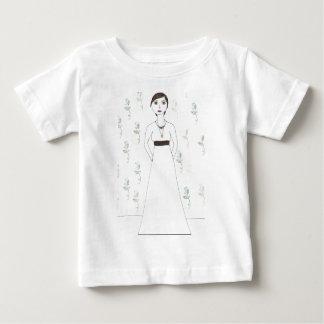 Jane Austen's  wallpaper Baby T-Shirt