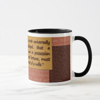 Jane Austin: Pride and Prejudice Mug