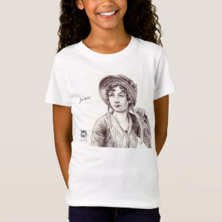 Jane Austin with a Smile T-Shirt